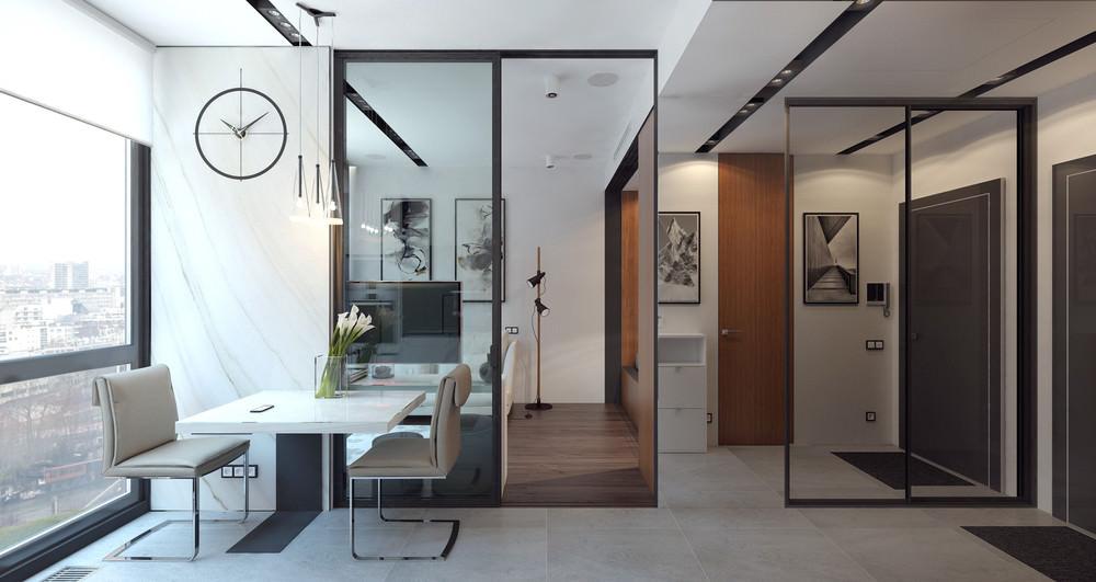 petit studio design 36 m²