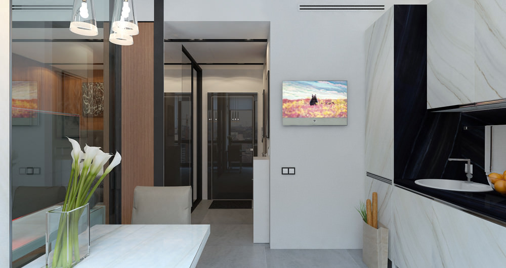 36 m² de petit studio design