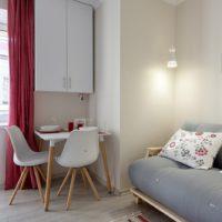 conception d'un appartement d'une pièce de 36 m