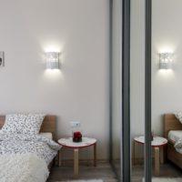 Appartement d'une pièce design de 36 mètres