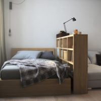 conception d'un studio d'une superficie de 36 m² photo
