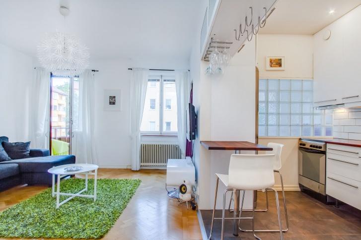 Studio appartement 36 sq m