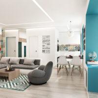 conception d'un studio pour une famille