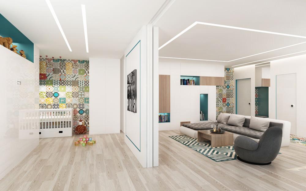 studio pour une famille avec un enfant idées