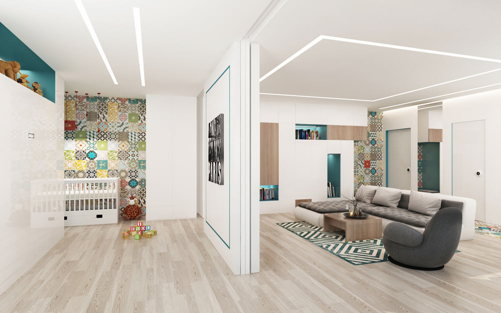 conception d'appartement pour la famille