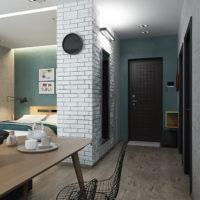 studio de design 36 m² avec idées de photo de chambre