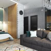 studio de design 36 m² idées de chambre photo