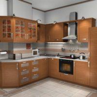 cuisine design 6 m² suite