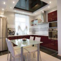 cuisine design 6 m² plafond