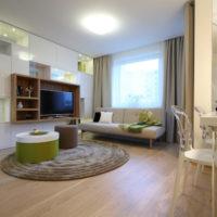 intérieur appartement 1 chambre 36 m² design