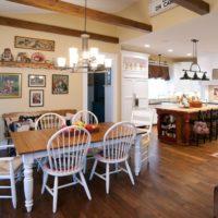 vidéki stílusú konyha otthon