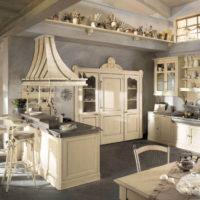 ország stílusú konyha fotó design