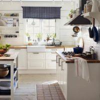 vidéki stílusú konyhai ötletek fotók