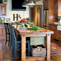 vidéki stílusú konyha ötletek belső