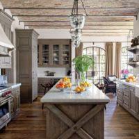 vidéki stílusú konyha belső ötletek