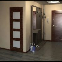 maza koridora gaiteņa dizaina foto