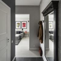 maza koridora gaiteņa foto noformējums