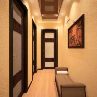maza koridora gaiteņa foto interjers