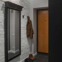 maza koridora gaiteņa interjers