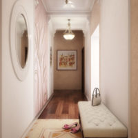 maza koridora gaiteņa interjera foto