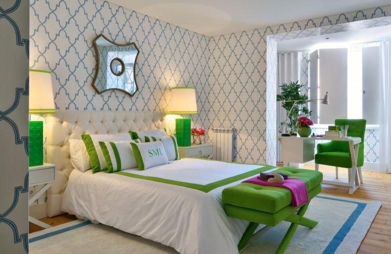 стилен тапет за спалнята