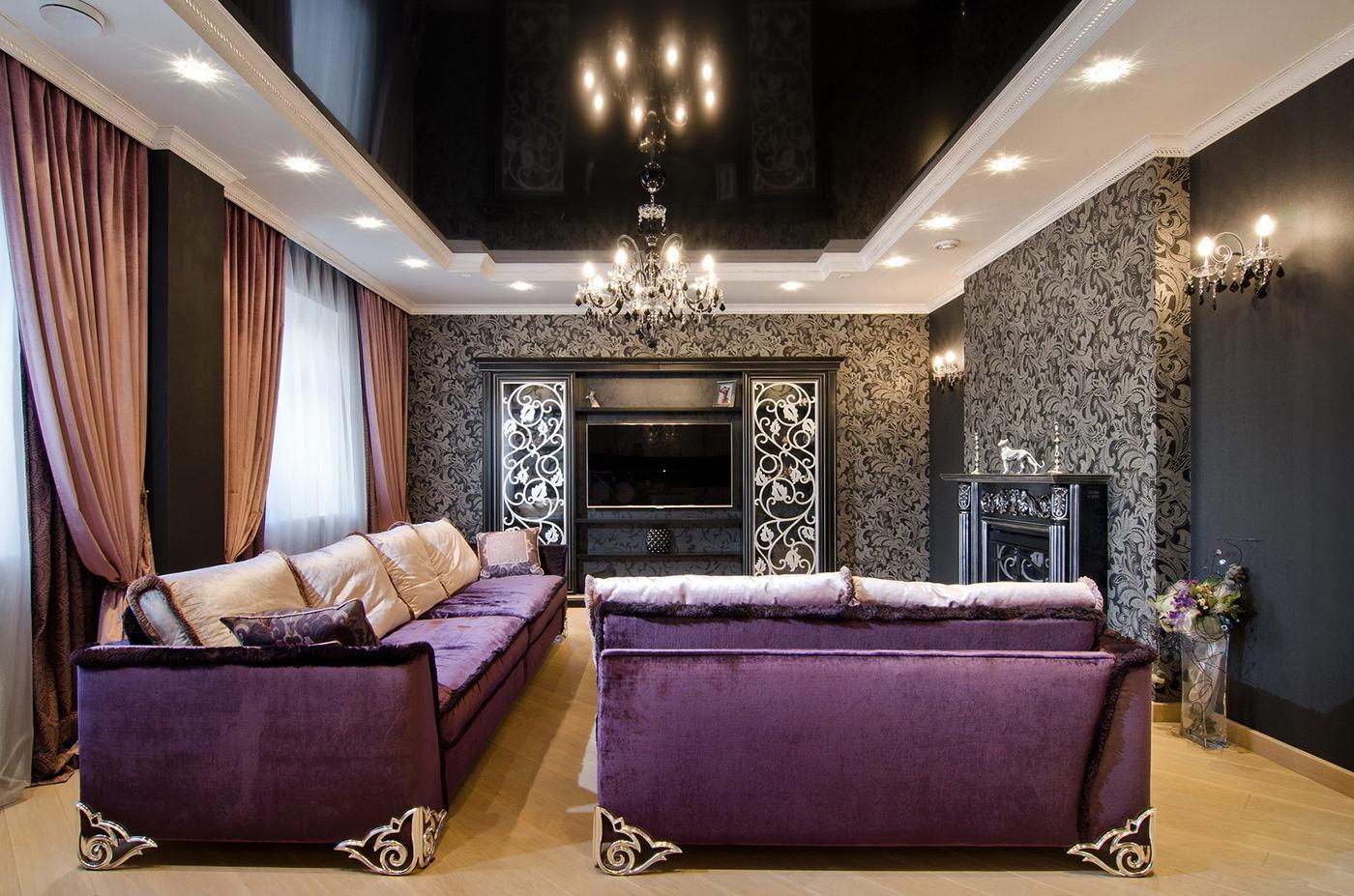 háttérkép egy luxus nappali