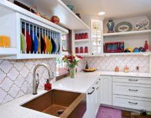 flīžu virtuves dekoru idejas