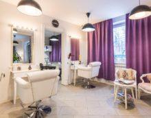 skaistumkopšanas salona frizētava dizains