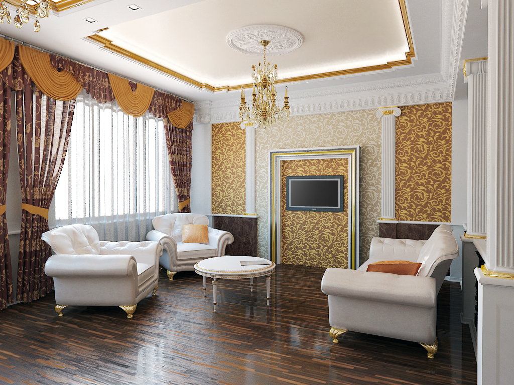classic style ceiling