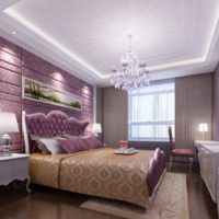 ceiling design in the bedroom photo