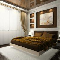 suspended ceilings in the bedroom
