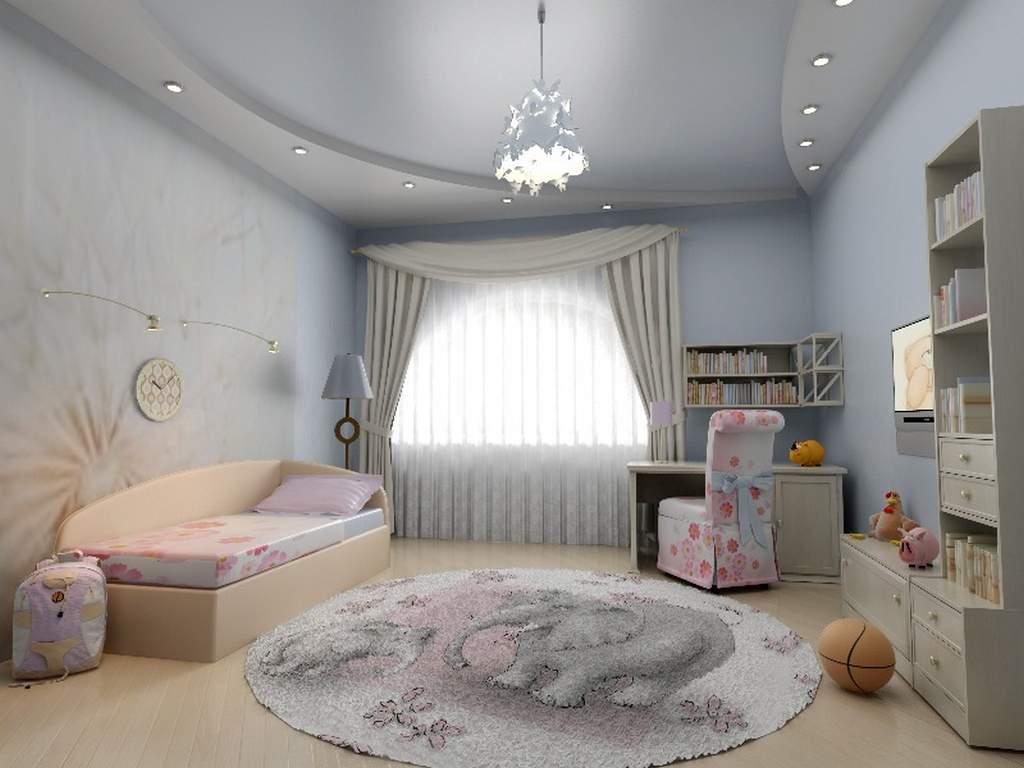 ceiling in the nursery