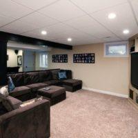 living room ceiling design photo