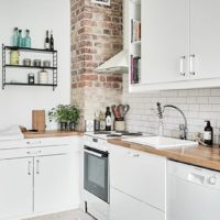 photo de cuisine rectangulaire