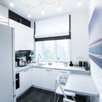 options de photo de cuisine rectangulaire