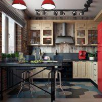 idées de cuisine rectangulaires photos