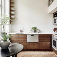 dégagement de cuisine rectangulaire