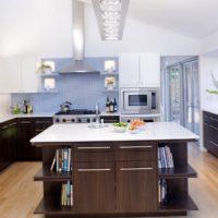 plan de cuisine rectangulaire