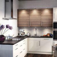 idées de disposition de cuisine rectangulaire