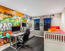 vaikų kambarys berniukų dekoravimui