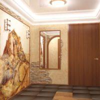 Image, miroir et pierre dans la conception du couloir