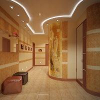 Pierre acrylique dans la conception du couloir