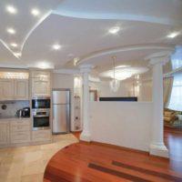 exemple d'une belle image de conception de plafond de cuisine