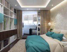 exemple d'un projet de design inhabituel pour une photo de chambre à coucher