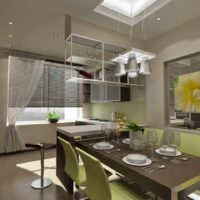exemple d'une belle photo de design de plafond de cuisine