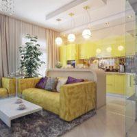 version du beau style du plafond de la photo de la cuisine