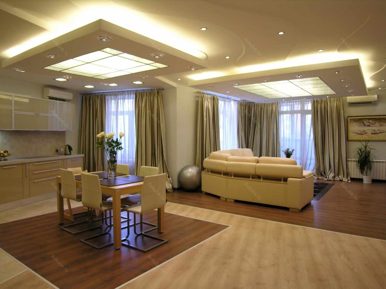 Un exemple de conception de plafond de cuisine dynamique