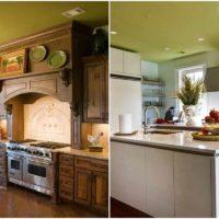 exemple d'un plafond lumineux dans la photo de la cuisine
