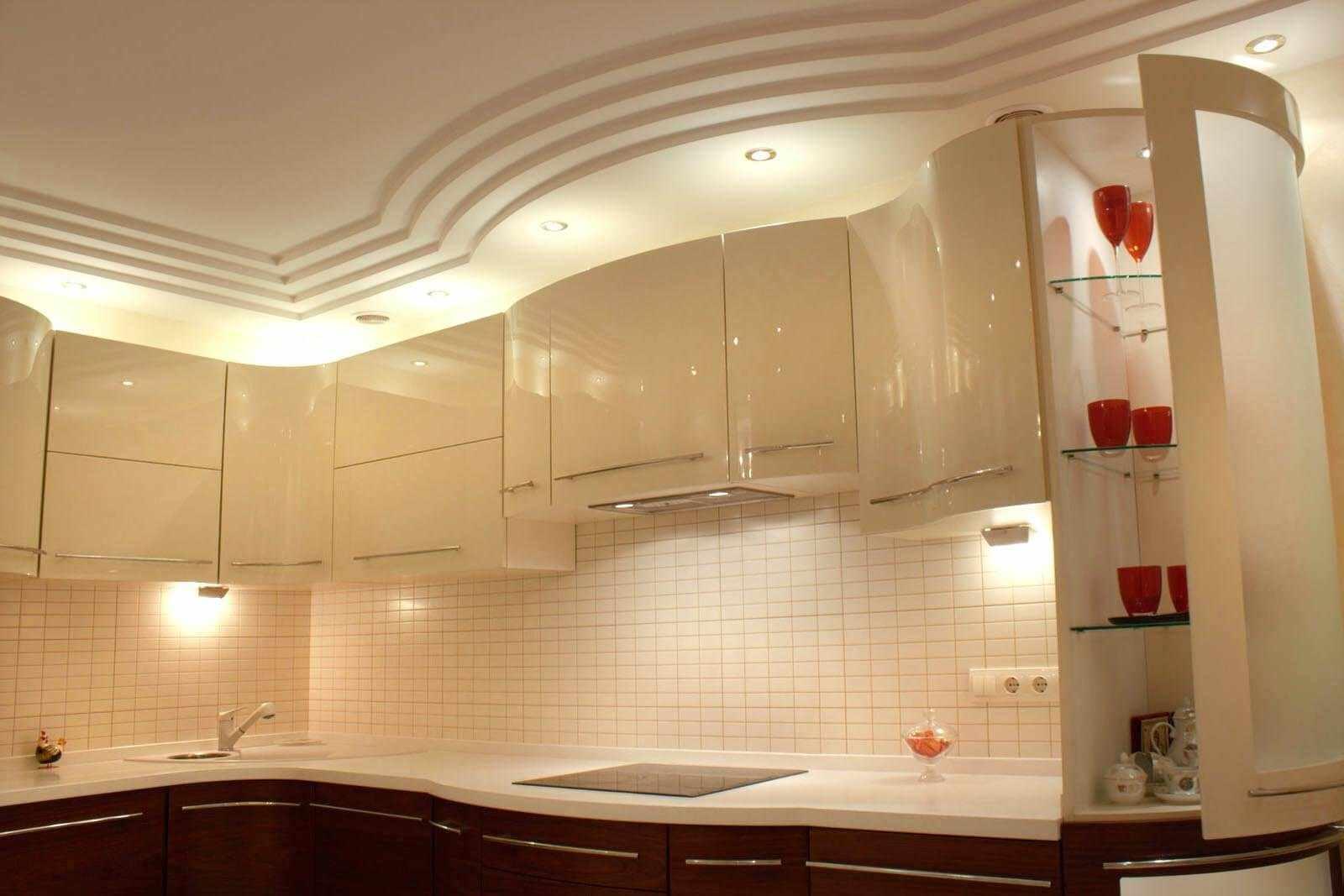 Un exemple de plafond de cuisine