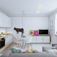 Design de cuisine de style minimaliste